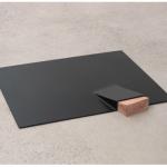 """""""Cunha"""", 2011, chapa de ferro e madeira, 5x50x60 cm"""