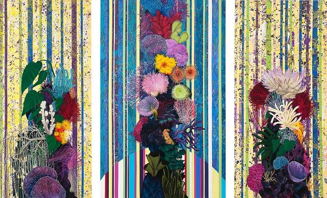 Sem t tulo 2012 leo e acr lica sobre tela 200 x 90 for Finestra 90 x 130