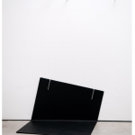 """Inerte #1"", 2011, ferro pintado e pregos, 119x 75x69 cm"