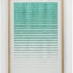 "Obra apresentada em ""Geometric Progression"", individual na White Cube em 2013"