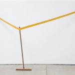"""""""Isolante (expansão)"""", 2008, metal e rodo, 145,5x273,5x98 cm"""