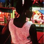 """""""Rosa no arraial"""", 1990, pigmento sobre papel fotográfico de algodão,105x70 cm"""