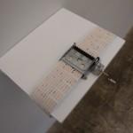 """""""Anthem of the winners"""", 2009, bilhete de loteria, papel e caixa de música, dimensões variáveis"""