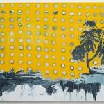 """""""Costela de Adão"""", 2013, óleo sobre tela, 180x250 cm"""