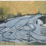 """Crossroads"", 2013, óleo sobre tela, 210x330 cm"