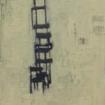 """""""Empilhamento"""", 2012, óleo sobre tela, 30x24 cm"""
