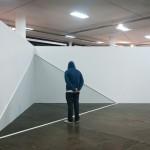 """""""Seção (Fumê) Canto"""", 2012, obra apresentada no Laboratório Curatorial (curadoria de Kamilla Nunes) da SP-Arte 2012"""