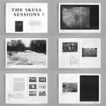 """Projeto """"Chernobyl"""", publicação, """"The Skull Sessions N.02"""", 17 páginas, papel jornal, 30x40 cm"""