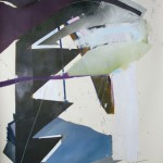 Nantucket Island 4, 2011, Oil on paper, 200 x 140cm