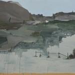 """""""Pé de pano"""", 2010, óleo sobre tela, 170x210com"""