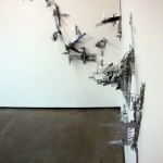 Revel Livre, 2011, plastic modeling kits, glue and screws on the wall, var. dim. 2