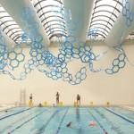 """Splash"", 2010, policarbonato alveolar"