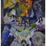 """""""Rebis"""", 2010, óleo sobre tela, 260x180 cm"""