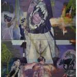 """A Íris fodida"", 2010, óleo sobre tela, 260x180 cm"