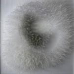 Série Silenciosas - 2009, técnica mista sobre chapas acrílicas 50x50x10cm