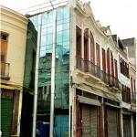 """Retrofit"", 2012-13, vidro e alumínio, Projeto Parede Gentil, foto de Paulo Inocêncio"