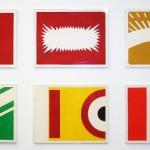 """O Triunfo do Projeto Construtivo Brasileiro"", 2011, 6 guaches sobre papel, 100x70 cm (cada)"