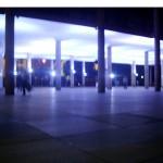 """""""Sentinelas"""", 2008, Palácio Gustavo Capanema, 16 canais de audio, alto falantes, CD players, dimensões variáveis"""