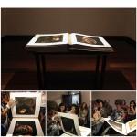 """""""Livro Cabeças"""", 2011, objeto, livro com 120 páginas com ensaio fotográfico das """"Cabeças de Açúcar"""" e """"Canto Doce – Pequeno Labirinto"""""""