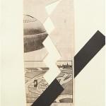 Sem título, 1991, recorte e colagem (papel jornal e cartão), A4