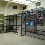 eu-você + sistema-cinema + passagem (NBP), 2008. 7ª Bienal de Xangai