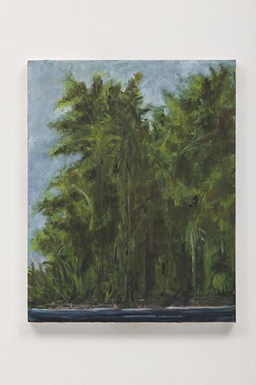 """""""Matinho"""", 2013, óleo sobre tela, 40x51 cm"""