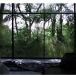 """A Casa de Vidro"", vídeo instalação, 10'25"", loop, DVD, música Goh Lee Kwang, 2008."