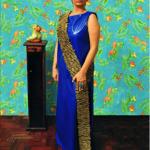"""A mulher"", 2011, registro fotográfico de performance, 100x150 cm, foto de Carla Cunha"