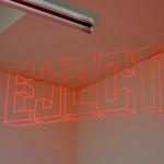 Eject | 2008 | Fita reflexiva e luz directional
