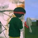 """Prazeres"", 2011, óleo sobre tela, 90x120 cm"