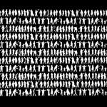 """""""Todas em Uma [Preta]"""", 2013, caixa de madeira, vidro, monitor de LED e filme, edição: 1/5, 39x62x11 cm"""