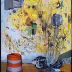 """""""Depois do fim"""", 2011, óleo sobre linho, 170x120 cm"""