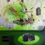 """""""A passagem"""", 2011, óleo sobre tela, 180x140 cm"""