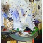 """""""Viagem a lugar nenhum"""", 2011, óleo sobre linho, 170x120 cm"""