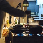 """Kitchen Dud Experience"" 2013, performance, Espaço Zebra, São Paulo, SP"