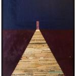 """""""Ninguém é perfeito"""", 2011, colagem sobre compensado de madeira, 170x120 cm"""