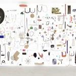 """""""Osso em Ovo"""", 2015, técnica mista, dimensões variáveis"""