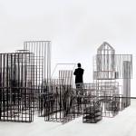 """""""Entonces"""" (vista da instalação), (2004)"""