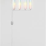 """""""Paulista"""", 2014, lâmpadas fluorescentes modificadas (e instalação elétrica), dimensões variáveis, 75×300 cm (aprox.)"""