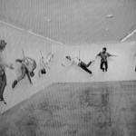 """7 artistas"", frame do video (1995)"