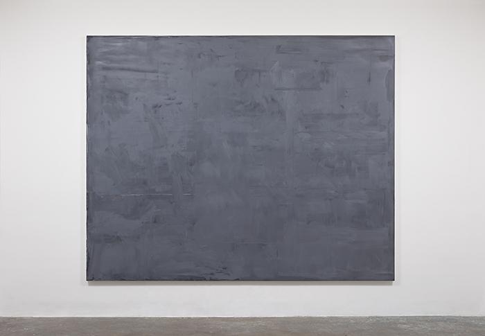 """""""No lugar em que já estamos"""", 2014, óleo sobre tela, 200x250 cm"""