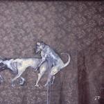 """""""Amor é Amor"""", 2012, óleo sobre tecido, 200x140 cm"""