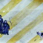 """""""Circulogia do Mambembe #7 - Adestramento"""", 2012, óleo sobre tela, 37,5x27x3 cm"""