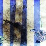 """""""Circulogia do Mambembe #7 - Equilibristas"""", 2012, óleo sobre tela, 35x27x3 cm"""