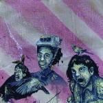 """""""Circulogia do Mambembe #7 - Monga"""", 2012, óleo sobre tela, 37,5x27x3 cm"""