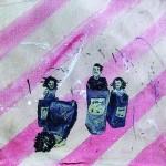 """""""Circulogia do Mambembe #7 - Saco!"""", 2012, óleo sobre tela, 33x27x3 cm"""