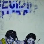 """""""Cuspi, Guspi ou Cuspe? #1"""", 2012, óleo sobre tela, 100x80 cm"""