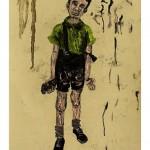 """""""Situações #10"""", 2011, óleo sobre tela, 20x23 cm"""