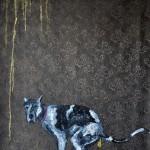 """""""Perversão #1"""", 2012, óleo sobre tecido, 100x140 cm"""