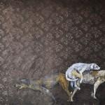 """""""Perversão #2"""", 2012, óleo sobre tecido, 200x140 cm"""